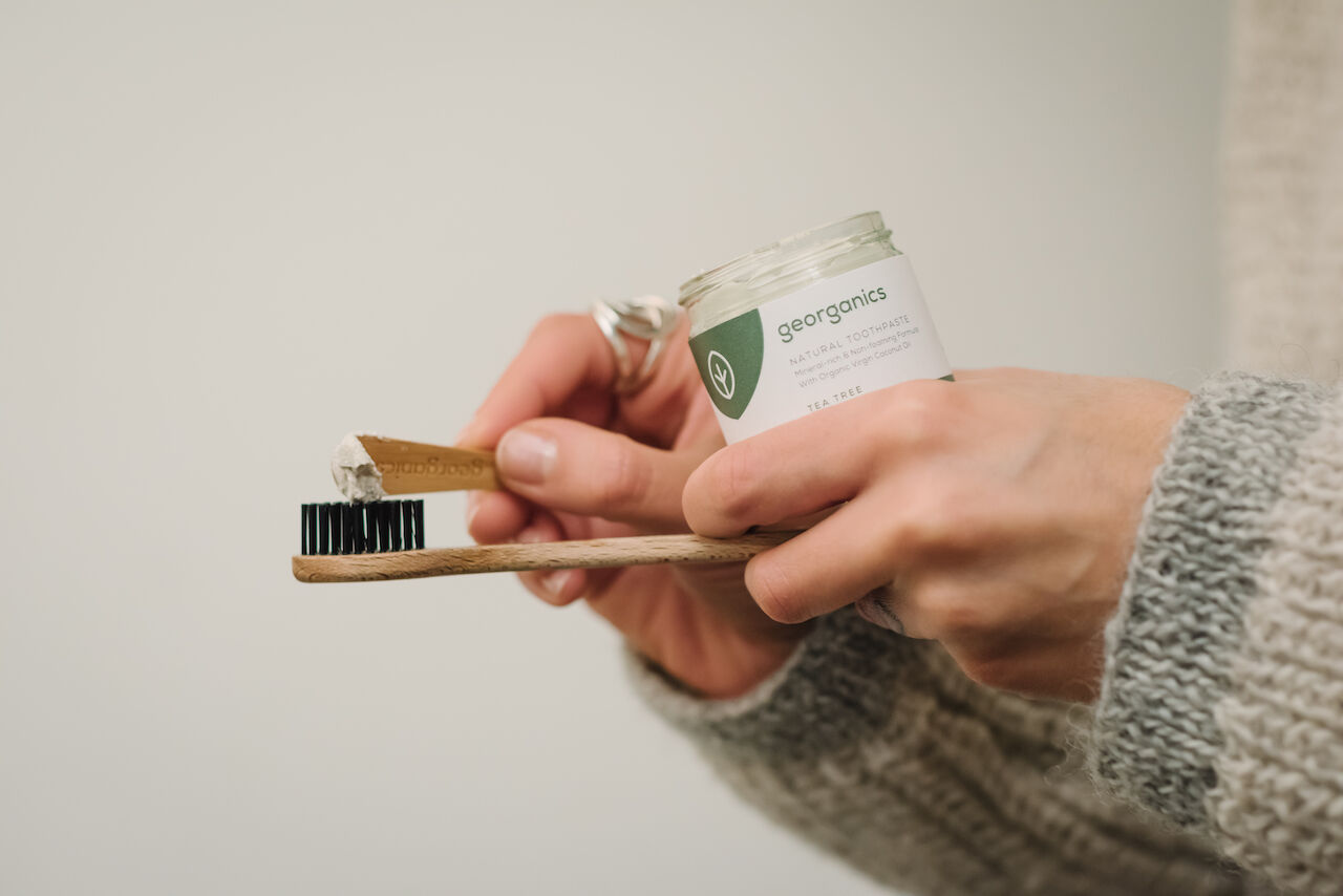 10% off natural toothpaste