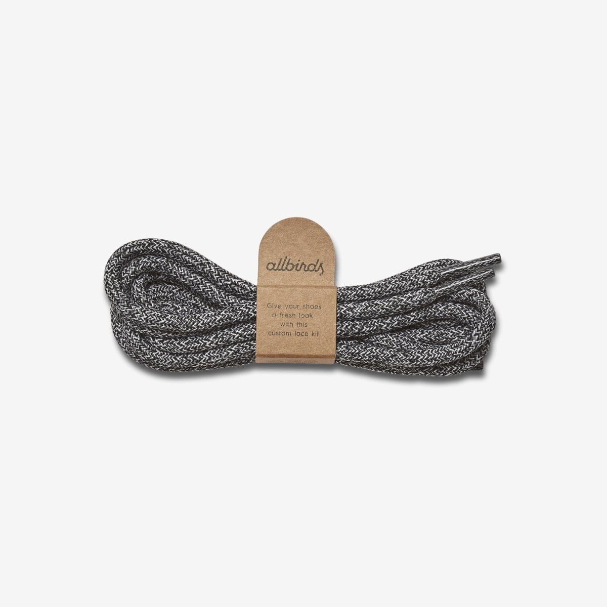 Allbirds laces made from recycled plastic bottles