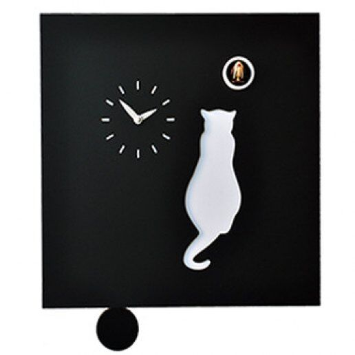 Immagine per Cat - Orologio da parete con pendolo e cucù - PIRONDINI