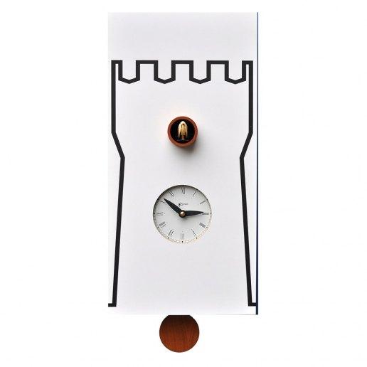 Immagine per Torre - Orologio da parete con pendolo e cucù - PIRONDINI