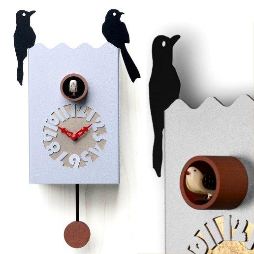 Immagine per Duetto - Orologio da parete con pendolo e cucù - PIRONDINI