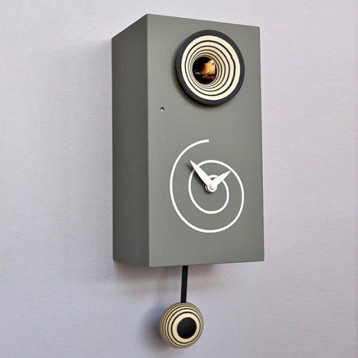 Immagine per Spirale - Orologio da parete con pendolo e cucù - PIRONDINI