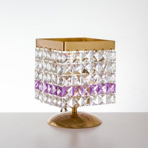 Immagine per Lucciola 120 cristalli - Lumetto, Lampada da tavolo - OLUX ILLUMINAZIONE