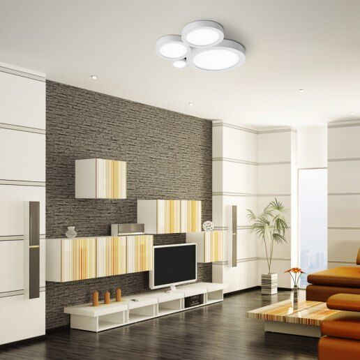 Applique e lampade da parete moderne for Plafoniere moderne per soggiorno