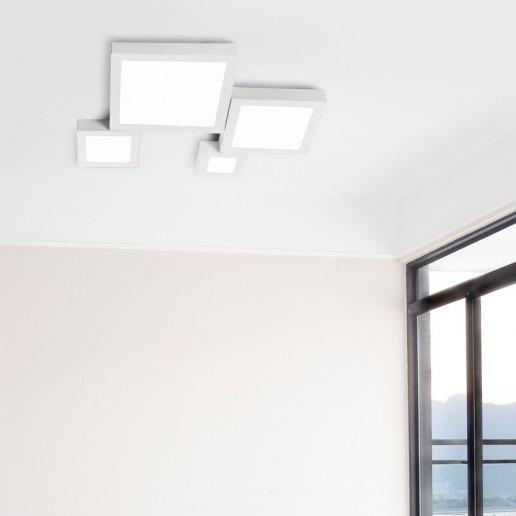 Immagine per Plafoniera LED Slim quadrata - Olux Illuminazione