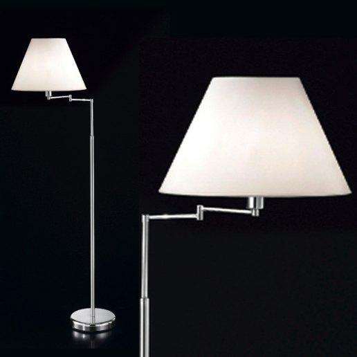 Immagine per Coordinati e lampade cromo Lucido 45x130 cm snodabile - Lampada da terra, Piantana - PERENZ