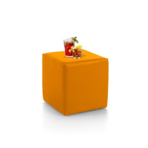 Immagine per Tavolino pouf CUBO Mamba ecopelle trendy - Tavolo - Avalon
