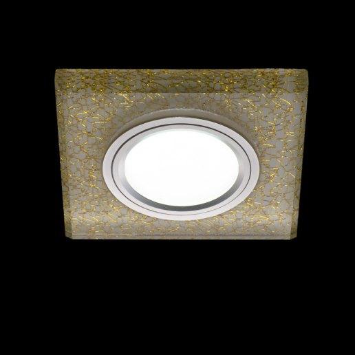 Immagine per Faretto incasso QUADRO - cristallo - LED 7W (incluso) – OLUX ILLUMINAZIONE