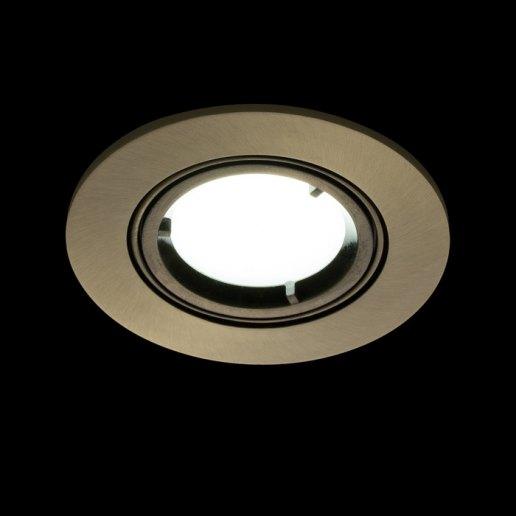 Immagine per Faretto incasso TONDO - orientabile - LED 7W (incluso) – OLUX ILLUMINAZIONE