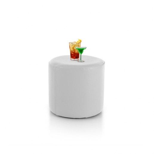 Immagine per Tavolino pouf CILINDRO Mamba ecopelle trendy - Tavolo - Avalon