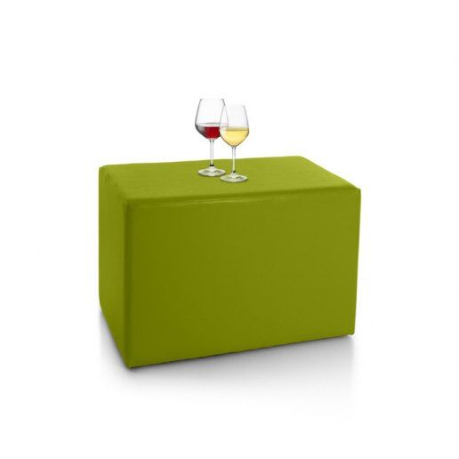 Immagine per Tavolino pouf RETTANGOLO Mamba ecopelle trendy - Tavolo - Avalon