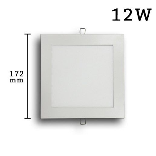 Immagine per Faretto incasso Led Slim quadrato 12 watt (172mm) - Olux Illuminazione