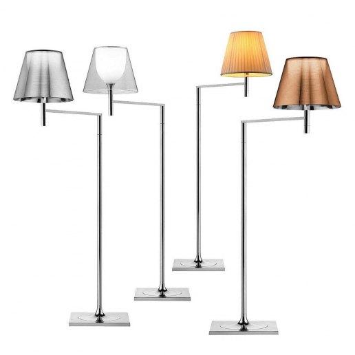 Ktribe f1 lampada da terra piantana flos lampade da for Flos piantana