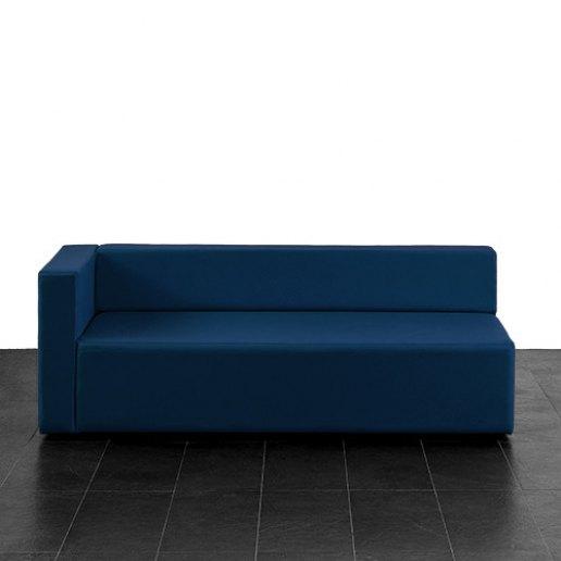 Immagine per Puma divano poltrona 3 posti bracciolo destro Mamba ecopelle trendy - Avalon