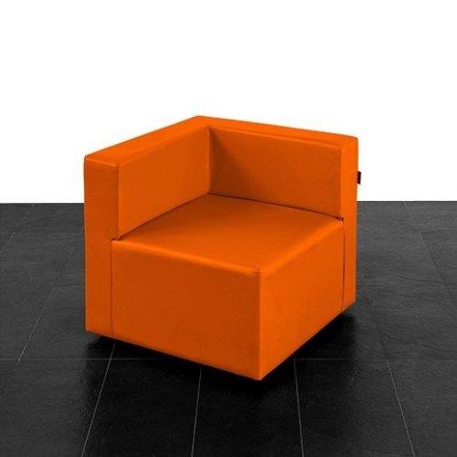 Immagine per Puma divano poltrona 1 posto angolare Mamba ecopelle trendy - Avalon