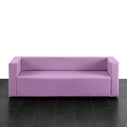 Immagine per Puma divano poltrona 3 posti Mamba ecopelle trendy - Avalon