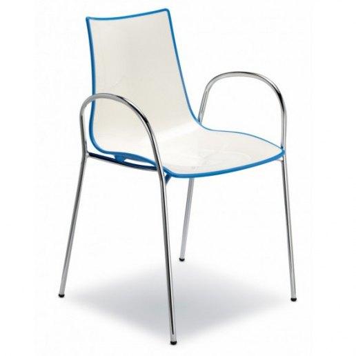Immagine per Zebra Bicolore (con braccioli) Sedia Design Scab Design