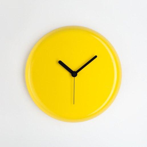 Immagine per Yo giallo lancette nere - orologio da parete - OWATCH