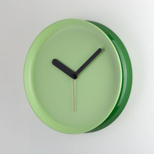 Immagine per Yo-Yo verde bottiglia-verde acqua - orologio da parete - OWATCH