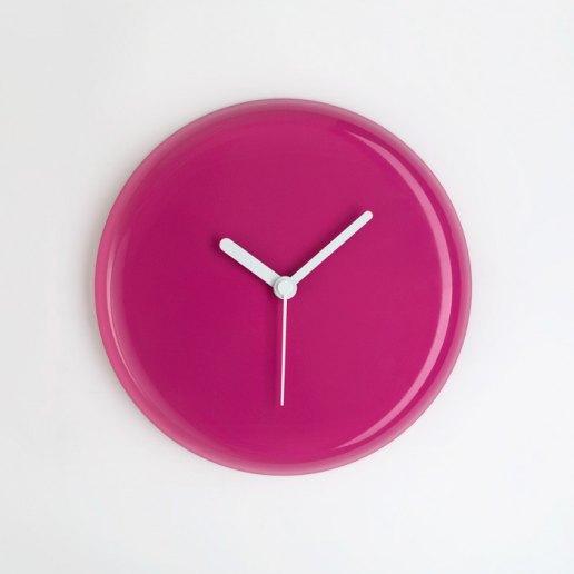 Immagine per Yo fucsia lancette bianche - orologio da parete - OWATCH