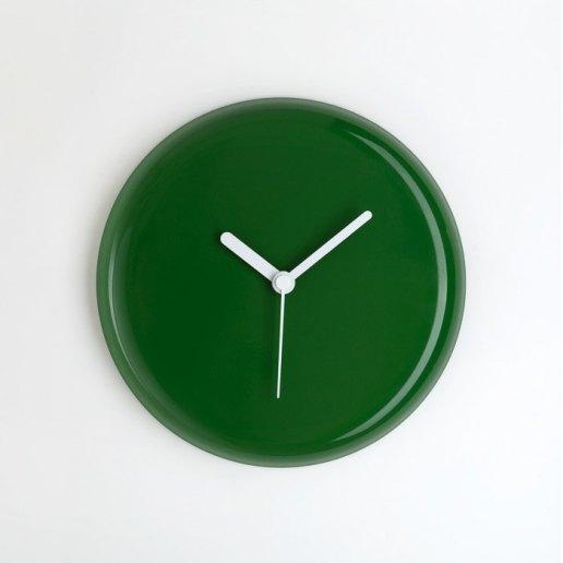 Immagine per Yo verde bottiglia lancette bianche - orologio da parete - OWATCH