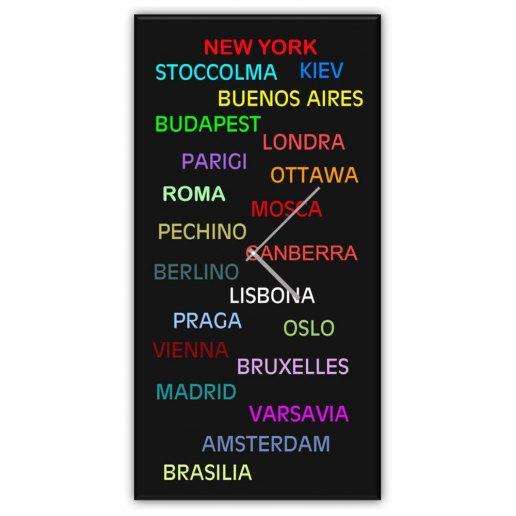 Immagine per Mondiale - Orologio da Parete - OraQuadra