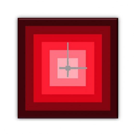 Immagine per Red - Orologio da Parete - OraQuadra