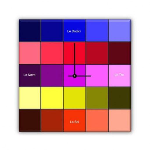 Immagine per Cromatico - Orologio da Parete - OraQuadra