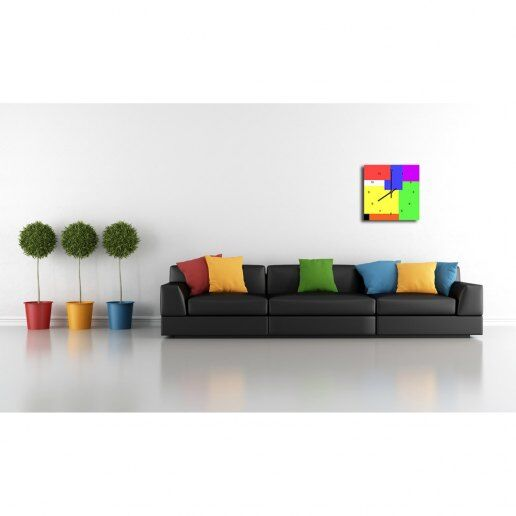 Immagine per Quadrati e Rettangoli - Orologio da Parete - OraQuadra