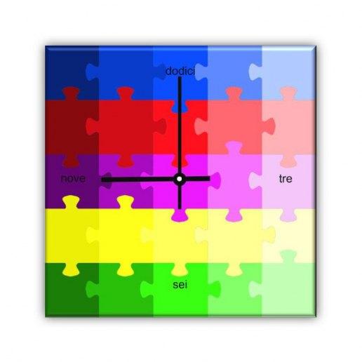 Immagine per Puzzle - Orologio da Parete - OraQuadra