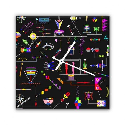 Immagine per Citta' Robotica - Orologio da Parete - OraQuadra