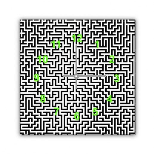 Immagine per Labirinto - Orologio da Parete - OraQuadra