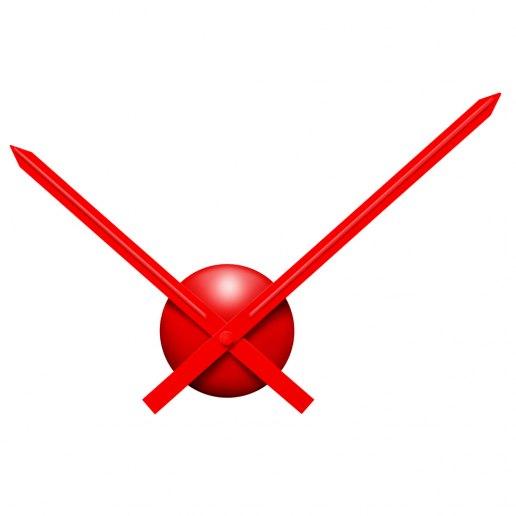 Immagine per Solo Ora 200 Small Rosso - Orologio da Parete - Nuovo Minuto