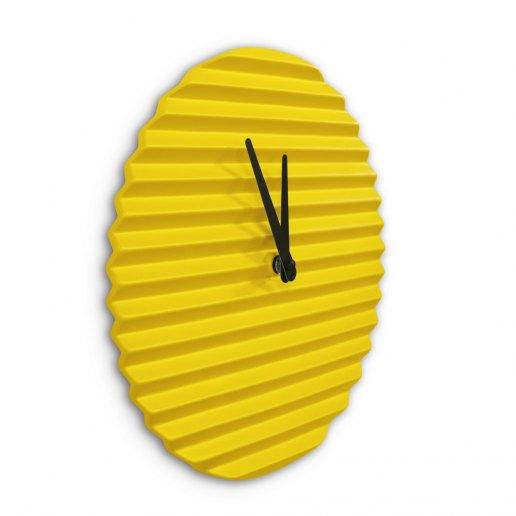WaveCLOCK Yellow - Orologio da Parete - Sabrina Fossi Design ...