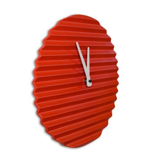 Immagine per WaveCLOCK Red - Orologio da Parete - Sabrina Fossi Design