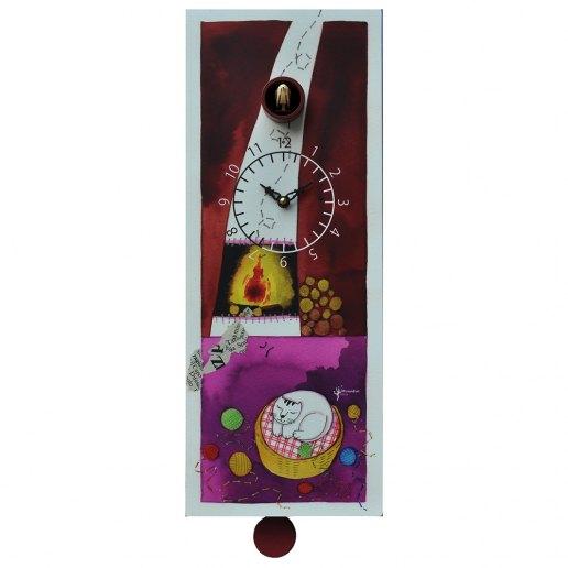 Immagine per Le Monachine - Orologio da parete con pendolo e cucù - PIRONDINI