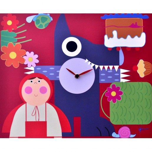 Immagine per Cappuccetto Rosso - Orologio da parete - PIRONDINI
