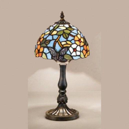 Immagine per Tiffany e complementi d'arredo 12 X 40 cm + paralume - Lampada da tavolo - PERENZ