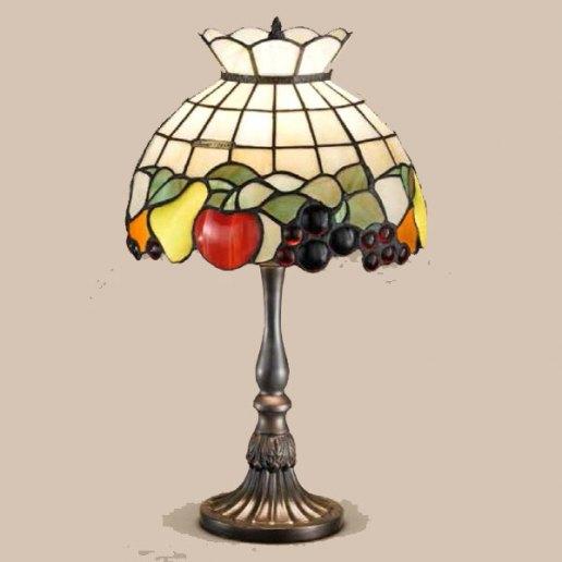 Immagine per Tiffany e complementi d'arredo 19 X 50 cm + paralume151 vetri - Lampada da tavolo - PERENZ
