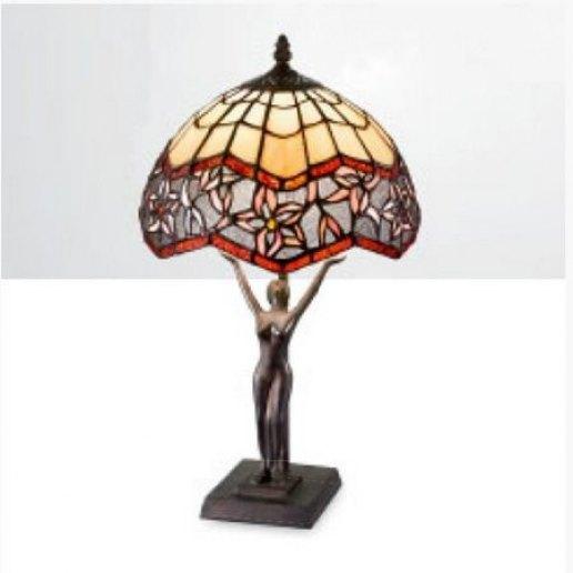 Immagine per Tiffany e complementi d'arredo 13 X 10 X 45 cm + paralume - Lampada da tavolo - PERENZ