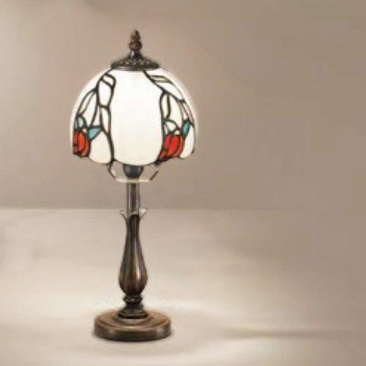 Immagine per Tiffany e complementi d'arredo 34x9 cm + paralume 48 vetri (14 cm) - Lampada da tavolo - PERENZ