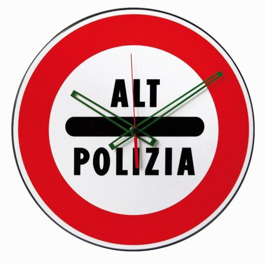 Immagine per ALT POLIZIA - Orologio da parete - NUOVO MINUTO