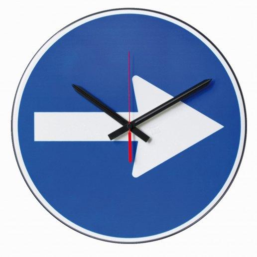 Immagine per DIREZIONE OBBLIGATORIA - Orologio da parete - NUOVO MINUTO