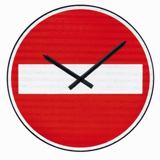 Immagine per DIVIETO DI ACCESSO - Orologio da parete - NUOVO MINUTO