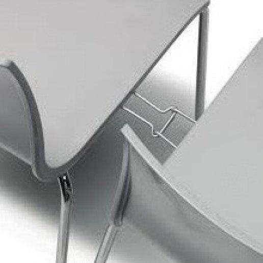 Immagine per Gancio di collegamento per sedia Alice 4 gambe - KIt - SCAB DESIGN