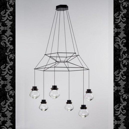 Immagine per LIGHT HEART 6 luce - Lampadari e sospensioni - SILLUX