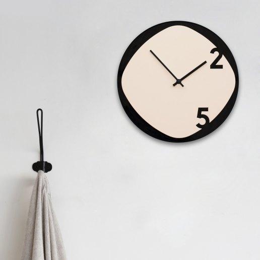 Immagine per Clock25 - Beige&Black - Orologi da parete - Sabrina Fossi Design
