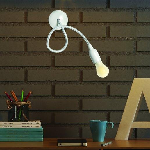 Immagine per Bingo bianco opaco - Lampada da parete, Applique - Gibas