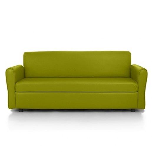 Koala divano poltrona 3 posti nuvola ecopelle trendy verde - Divano verde acido ...