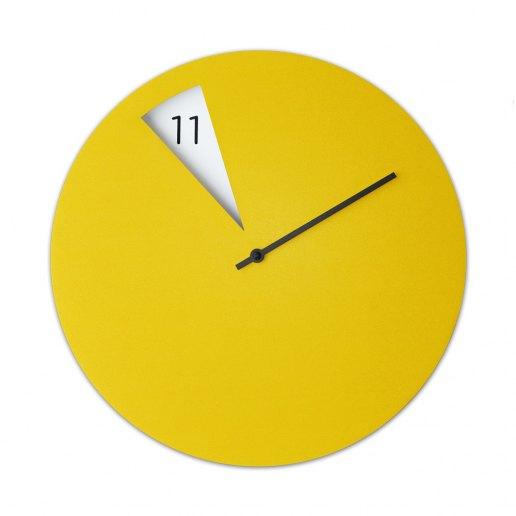Immagine per FreakishCLOCK Yellow (Giallo) - Orologio da parete - Sabrina Fossi Design